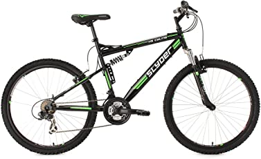 KS Cycling Fahrrad Mountainbike Fully Slyder RH