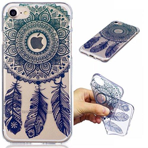 Cover iPhone 6 PLUS Silicone ultra trasparente sottile TPU morbido Custodia Modello di arte cover-panda Sogno Network Capture