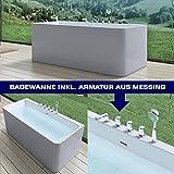 MAI&MAI freistehende Vicenza601S - Die moderne Badewanne