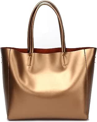 Covelin Damen Handtasche aus echtem weichem Leder Tote Schultertasche Hot