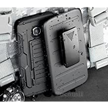 Galaxy S6 Edge Plus Funda, Cocomii Robot Armor NEW [Heavy Duty] Premium Belt Clip Holster Kickstand Shockproof Hard Bumper Shell [Military Defender] Full Body Dual Layer Rugged Cover Case Carcasa Samsung G928 (Black)
