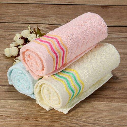Bazaar 32x 70cm, Badezimmer saugfähig Face Reinigungstuch Jacquard Baumwolle Handtuch Dusche Waschlappen (Jacquard-waschlappen)