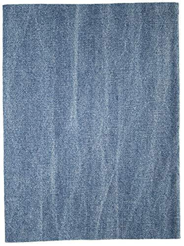 Jajasio 1 Stk. Jeans Flicken zum Aufbügeln XXL 43x20 cm Bügelflicken/ Farbe: 02 – jensblau