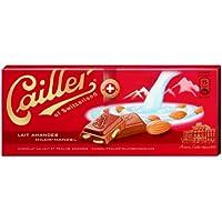 Cailler, Galleta fresca de oblea (con almendras molidas 31%) - 10 de