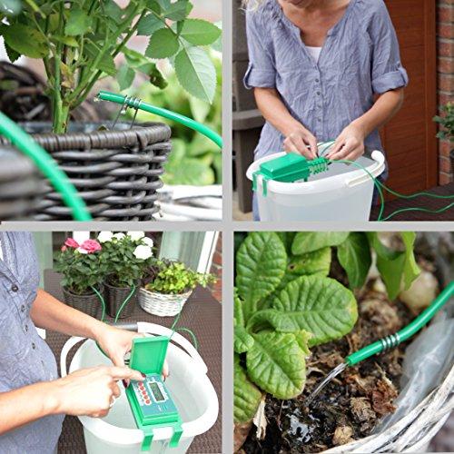 Ultranatura Automatische Urlaubs Bewässerungsanlage für Pflanzen -