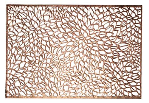 Occasions 10 Pack Pressed Vinyl Metallic Sets/Hochzeit Accent Mittelstück (Magnolia, Rose Gold) Gold Magnolia