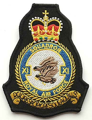 RAF No. 11Close Air Squadron Royal Air Force Military bestickt Patch (Elf Patch)