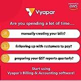 Vyapar Mobile+Desktop software: Billing & Accounting, 1 Month Plan (part of Amazon Digital Suite)