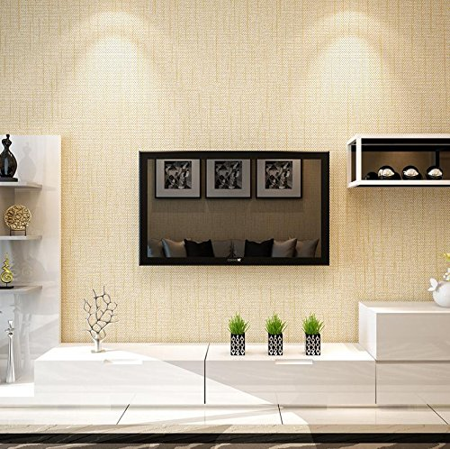 BBSLT Colore solido imitazione granella Lino tessuto non-carta da parati piede bagno ristorante den decorate plain wallpapers , 1 - Stati Uniti Schiuma Mappa