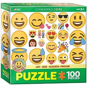 """EuroGraphics """"Emoji alegría Puzzle (100 Piezas, Multi-Color)"""