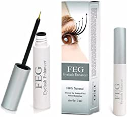 FEG Eyelash Growth Treatments Makeup, Eylash Enhancer 7days Longer Thicker Serum - 3ml