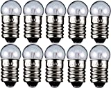 10er Set WireThinX Kugelförmige Lampe 0,45 W, 4,5 V - Sockel E10-11,5 x 24 mm - L3
