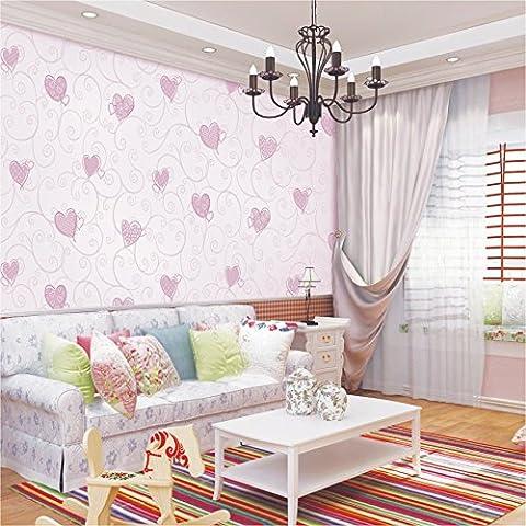 FUMIMID Rigenerato schiuma bambini semplice del fumetto a forma di cuore di camera da letto salotto moderno sfondo wallpaper