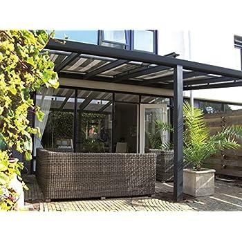 solidpremium 500x400 cm bxt alu terrassen berdachung anthrazit 16mm 3 fach stegplatten. Black Bedroom Furniture Sets. Home Design Ideas