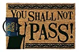 The Lord Of The Rings You Shall Not Pass Paillasson 40 x 60 cm