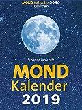 Mondkalender 2019 - Abreißkalender: Entspannt durch den Alltag im Einklang mit den Mondphasen