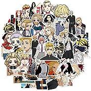 50 قطعة من ملصقات الرسوم المتحركة لزجاجة المياه، ملصق فينيل مقاوم للماء للفتيات المراهقات لاب توب، حقيبة سفر،