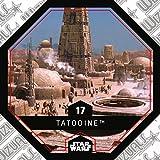 Rewe STAR WARS Cosmic Shells Normal 17 Tatooine + WIZUALS STICKER