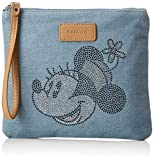 CODELLO Damen 81011605 Clutch, Blau (Light Blue), 1x22x19 cm