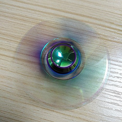 Airsson Hand Fidget Spinner EDC Focus Stress Reducer Spielzeug mit Keramik Lager für Erwachsene und Kind (Mehrfarbig) - 4