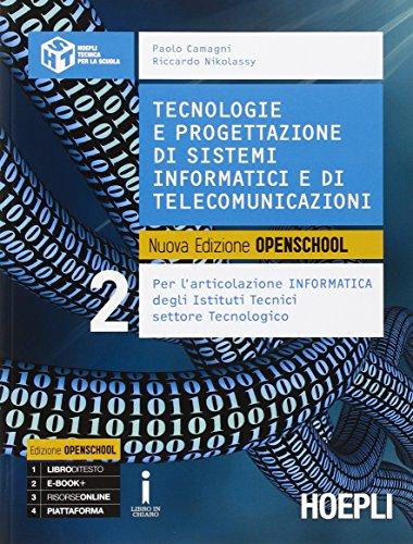 Tecnologie e progettazione di sistemi informatici e di telecomunicazioni. Con e-book. Con espansione online. Per gli Ist. tecnici industriali: 2