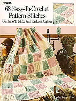 63 Easy-to-Crochet Pattern Stitches (English Edition)