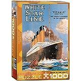 Eurographics Puzzle, Titanic, White Star Line (1000Teile)