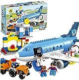 #9: Happy City Airport Block Building Set - 69 Pieces