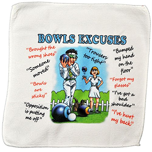 Bowls Excuses Microfibre Cleanin...