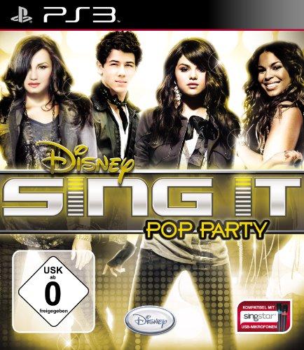 Disney Sing it: Pop Party - [PlayStation 3] (Disney-karaoke-playstation 3)
