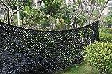 Filet de camouflage 3x 5m idéal pour la chasse, Noir