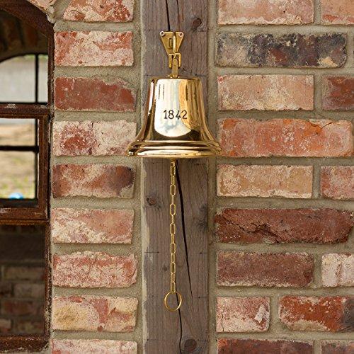Antikas - Glocke mit sehr markantem Klang, historisches Modell im hochglänzendem Messing