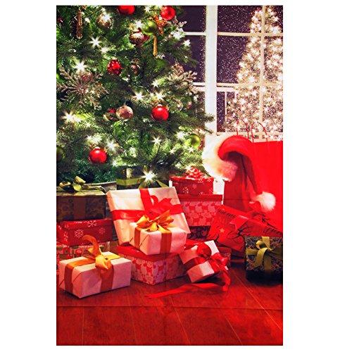 Freshsell 394 Hintergrundtuch für Weihnachtsbaum, 90 x 150 cm