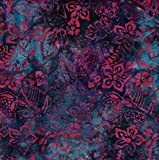 Fabric Freedom Marineblau Herbst Design 100% Baumwolle Bali