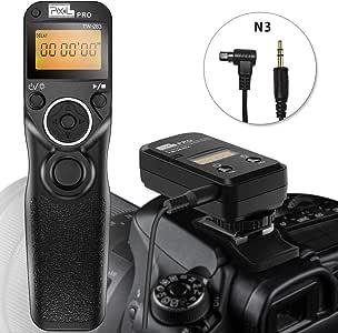 Pixel TW-283 N3 Déclencheurs sans Fil Télécommande Câble de déclenchement pour Canon EOS Caméra