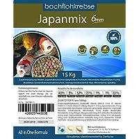 Japanmix Koifutter – 3mm – 15 kg Koipellets