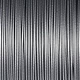 ABS PLA Filament für 3D-Drucker und 3D-Doodler, 1,75 mm, 5 m, Farben wählbar, ARGENTO/SILVER