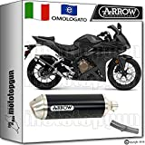 Arrow Kit Auspuff Hom Racetech Aluminium Dark Honda CBR 500-r 20161671804Aon + 71640. Ich