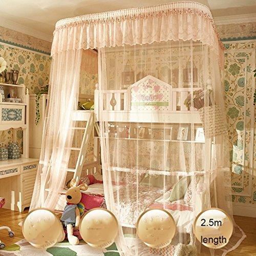 uus Letti a castello letto matrimoniale e letto a due letti letto letto e letto al letto da letto 1,5 m per le famiglie zanzariere per le famiglie zanzariere a 4 letti ( Colore : B , dimensioni : Hight 2.5m )