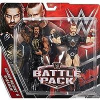 WWE Pack De Lucha Serie 43.5 Figuras De Acción - Roman Reigns & Sheamus Lleva Camiseta