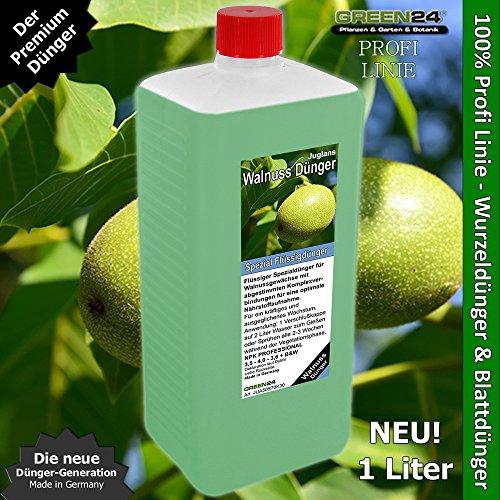 Walnussbaum-Dünger XL 1 Liter HIGH-TECH Spezial Baumdünger für Walnuss-Pflanzen, Juglans Arten