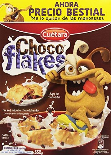 Cuetara Choco Flakes - 550 g