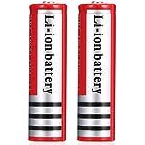 Kally 18650 3.7V 4200 mAh li-ION Oplaadbare Batterijen Hoge Capaciteit Batterijen Braagbare Zaklamp Vervangende Batterijen (2