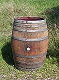 Regentonne, Holzfass, Weinfass Barrique, Temesso-Fass aus Eiche, Eichenholz -300 Liter (Fass nur geöffnet)