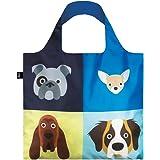 LOQI Stephen Cheetham Cats & Dogs Einkaufstaschen