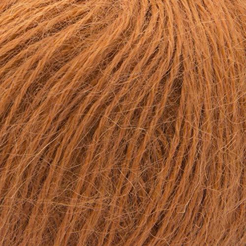 ggh Suri Alpaka - 016 - Safran - 100% Suri Alpaka - Superfine - 25g Knäuel - 135m -Nadel Größe 3-3,5 -
