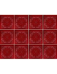 3, 6, 9o 12pack banda Anas con original estampado de cachemir, color a elegir