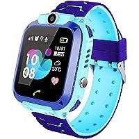 Smartwatch per bambini, Orologi per bambini impermeabili IP67, LBS, Effettua chiamata, SOS, Modalità classe, Fotocamera…