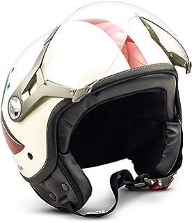 59-60 Farbe:Finale Gr/ö/ße:L RC-583 Jethelm Motorradhelm Chopper Jet Motorrad Roller Bobber Helm rueger