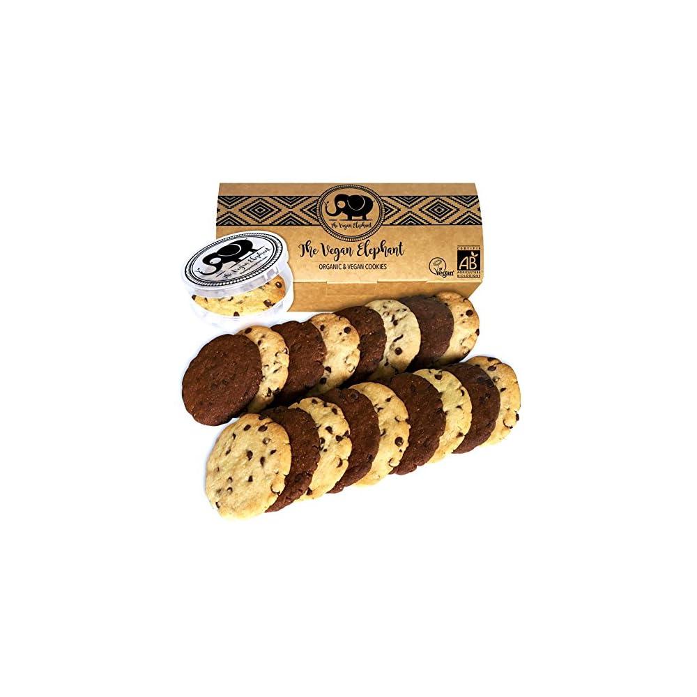 Vegan Cookies Bio Keske 18 Vanille Schokoladen Und Doppelte Schokoladen Keske 100 Biologisch Palml Frei Gmo Frei Handgefertigt Aus Hochwertigen Zutaten 630g